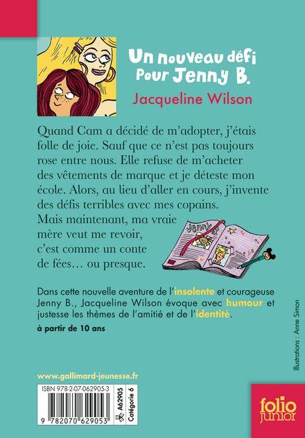 Un nouveau défi pour Jenny B. - Nick Sharratt, Jacqueline Wilson