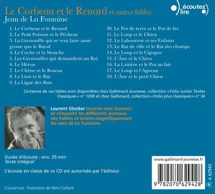 Le Corbeau et le Renard et autres fables - Jean de La Fontaine