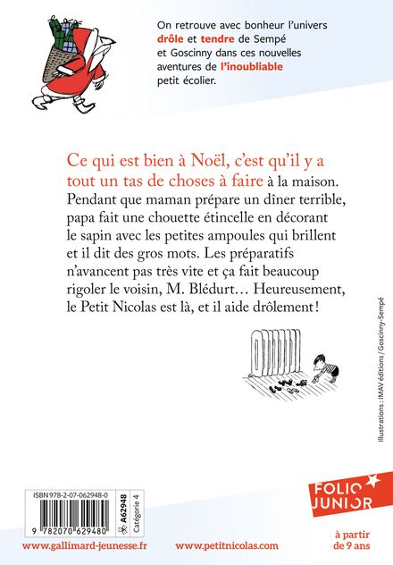 Le Petit Nicolas, c'est Noël! - René Goscinny,  Sempé