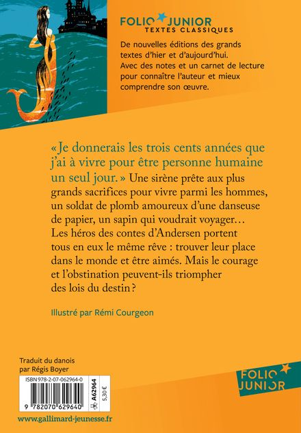 Contes choisis - Hans Christian Andersen, Rémi Courgeon