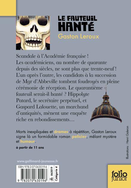 Le fauteuil hanté - Gaston Leroux, Jeanne Puchol