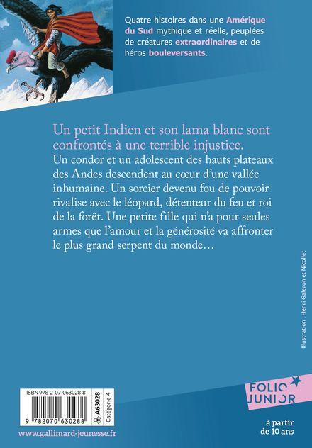 Au pays du grand condor - Nadèjda Garrel, Bernard Héron