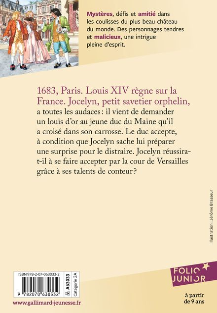 Jeux de surprises à la cour du Roi-Soleil - Jérôme Brasseur, Arthur Ténor