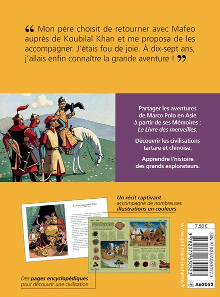 Sur les traces de Marco Polo - Sandrine Mirza, Marcelino Truong