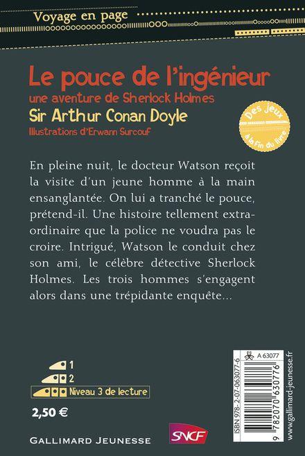 Le Pouce de l'ingénieur - Arthur Conan Doyle, Erwann Surcouf