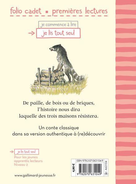 La véritable histoire des trois petits cochons - Erik Blegvad