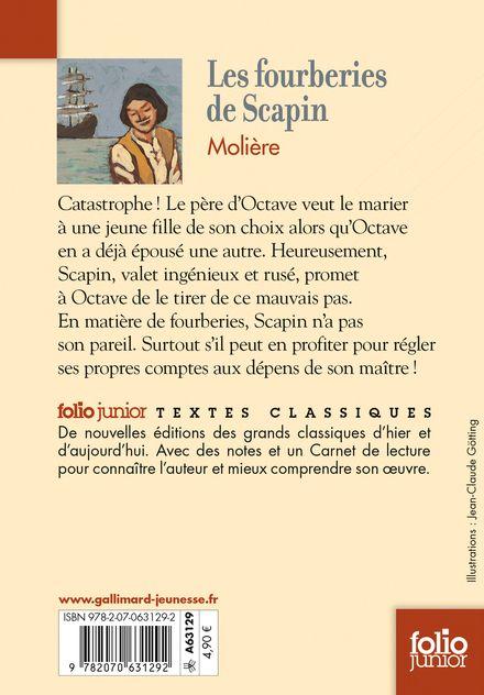 Les fourberies de Scapin - Jean-Claude Götting,  Molière