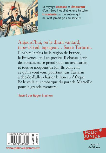 Aventures prodigieuses de Tartarin de Tarascon - Roger Blachon, Alphonse Daudet