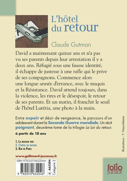 L'hôtel du retour - Claude Gutman, Philippe Mignon