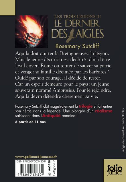 Le dernier des aigles - Rosemary Sutcliff