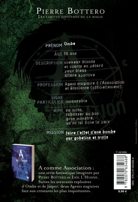 Les limites obscures de la magie - Pierre Bottero