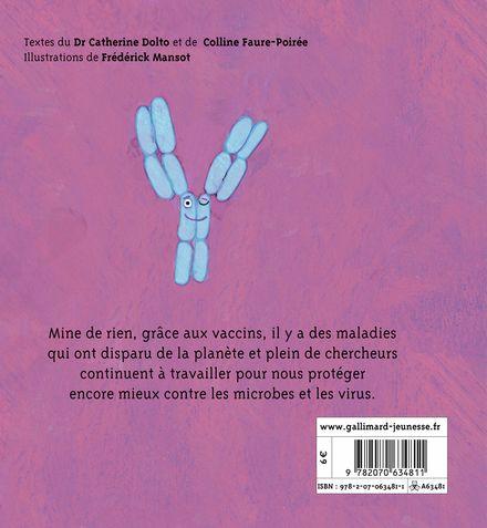 Les vaccins - Catherine Dolto, Colline Faure-Poirée, Frédérick Mansot