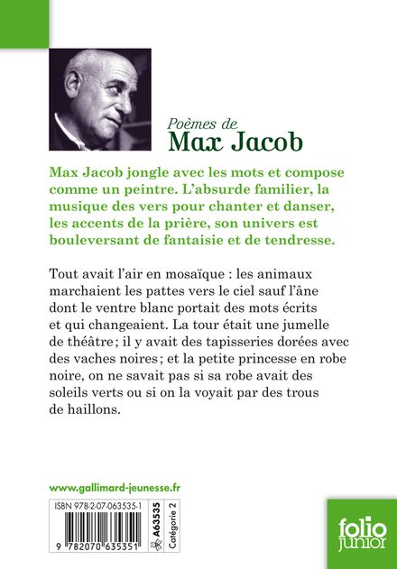 Poèmes - Max Jacob, Aurore Petit