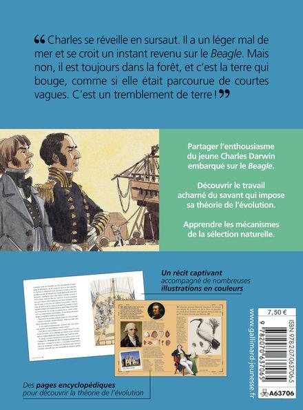 Sur les traces de Charles Darwin - Vincent Desplanche, Jean-Baptiste de Panafieu
