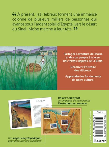 Sur les traces de Moïse - Pierre Chavot, Jean-Michel Payet