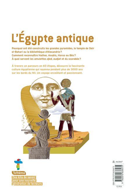 L'Égypte antique - Amandine Marshall