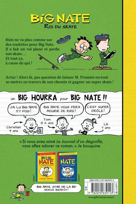 Big Nate, roi du skate - Lincoln Peirce