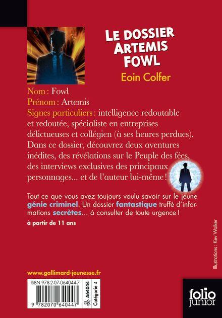 Le dossier Artemis Fowl - Eoin Colfer