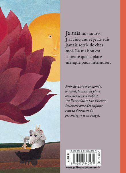 Comment la souris reçoit une pierre sur la tête et découvre le monde - Etienne Delessert