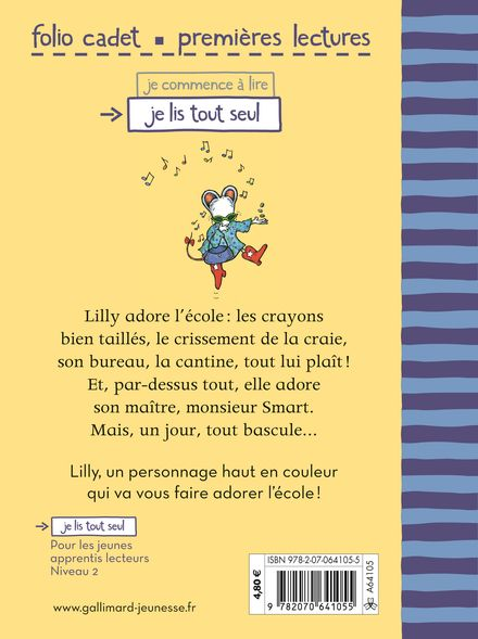 Lilly adore l'école! - Kevin Henkes