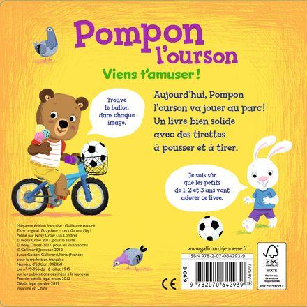 Pompon l'ourson : Viens t'amuser! - Benji Davies