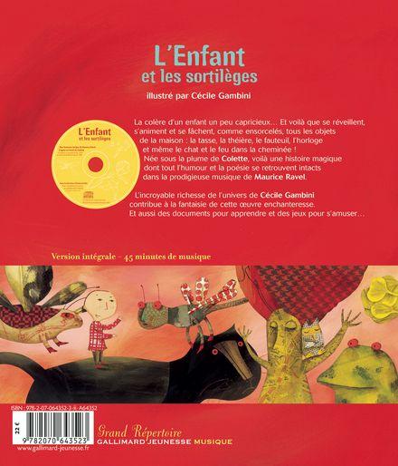L'Enfant et les sortilèges - Cécile Gambini, Maurice Ravel