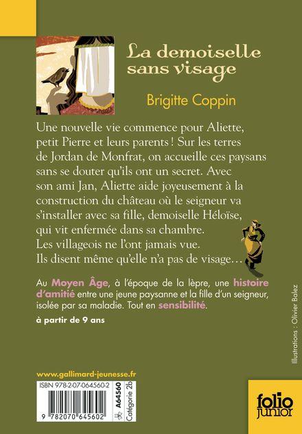 La demoiselle sans visage - Olivier Balez, Brigitte Coppin