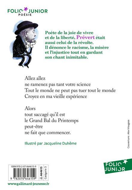Étranges étrangers et autres poèmes - Jacqueline Duhême, Jacques Prévert