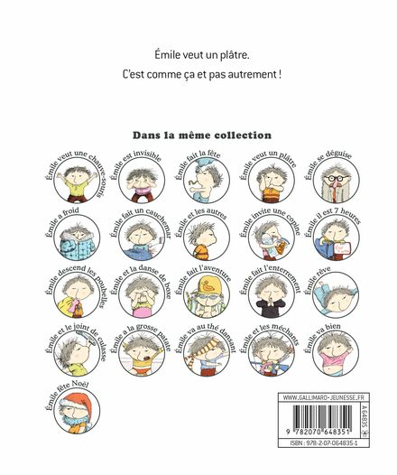 Émile veut un plâtre - Ronan Badel, Vincent Cuvellier