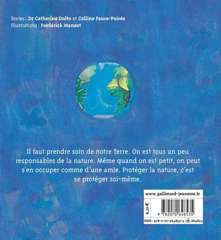 Prends soin de ta planète - Catherine Dolto, Colline Faure-Poirée, Frédérick Mansot