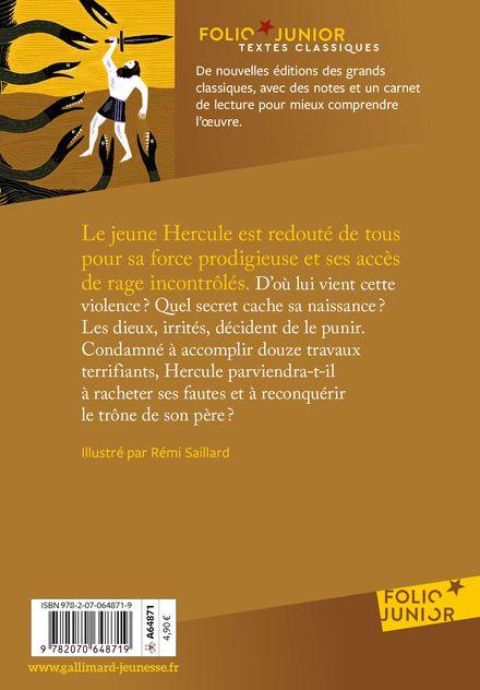 Les douze travaux d'Hercule - Isabelle Pandazopoulos, Rémi Saillard
