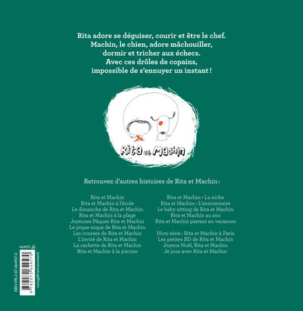 Le Noël de Rita et Machin - Jean-Philippe Arrou-Vignod, Olivier Tallec