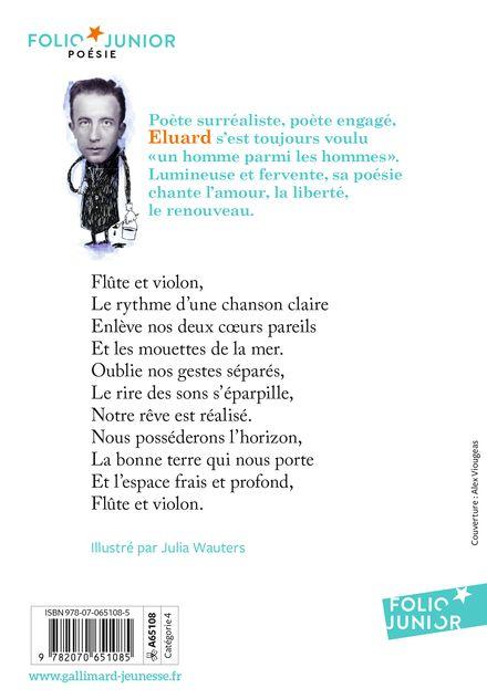 Poèmes - Paul Éluard, Julia Wauters