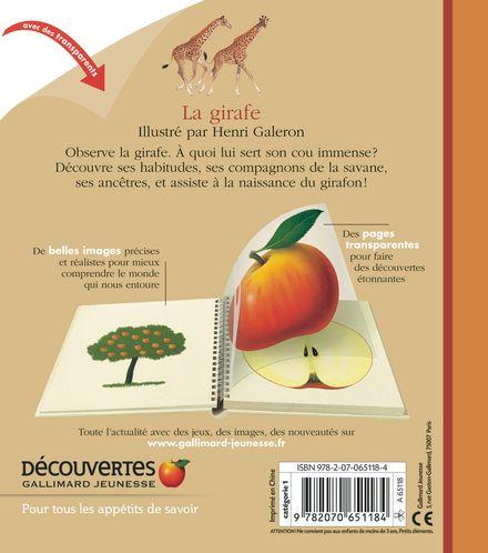 La girafe - Henri Galeron