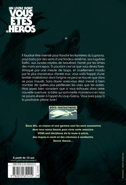La Nuit du Loup-Garou - Jonathan Green, Steve Jackson, Ian Livingstone, Martin McKenna
