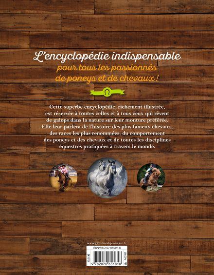 Encyclopédie Passion du Poney et du Cheval - John Wodward