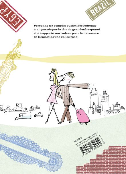 La valise rose - Serge Bloch, Susie Morgenstern