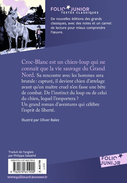 Croc-Blanc - Olivier Balez, Jack London