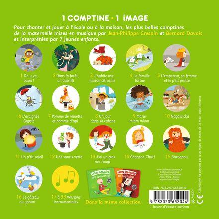 Mon imagier des comptines de la maternelle - Jean-Philippe Crespin, Bernard Davois, Charlotte Roederer