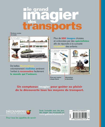 Le grand imagier des transports -  un collectif d'illustrateurs, Delphine Gravier-Badreddine