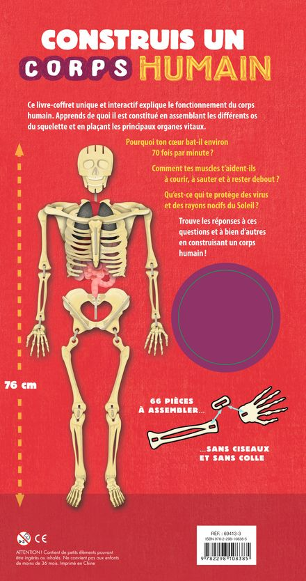 Construis un corps humain - Richard Walker