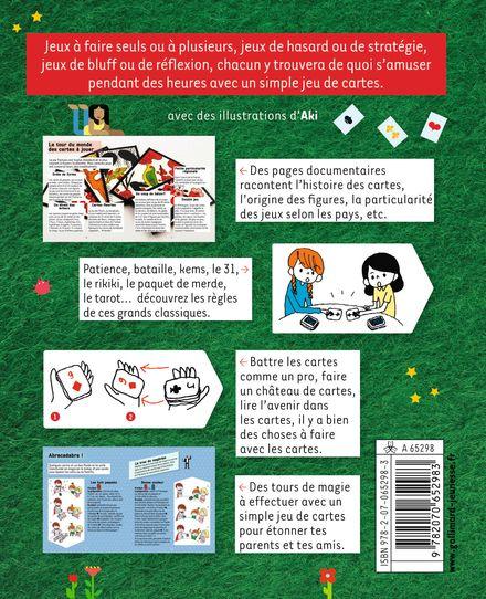 Jeux de cartes -  Aki, Sophie de Mullenheim