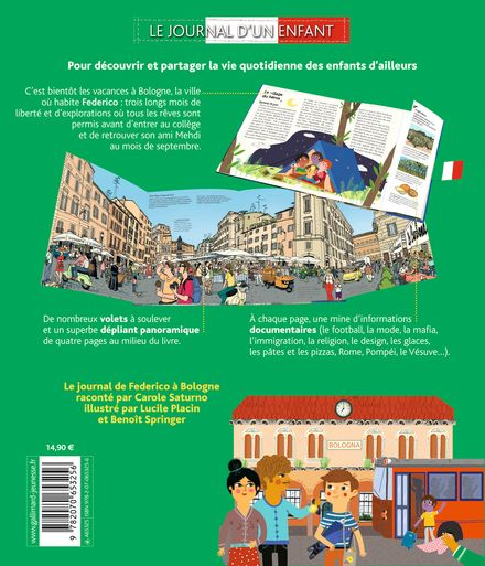 Aujourd'hui en Italie - Lucile Placin, Carole Saturno, Benoît Springer
