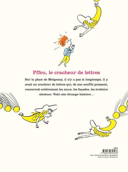 Pffeu, le cracheur de lettres - Muriel Bloch, Aurore Callias