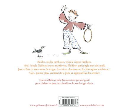 La famille Fraskato et son cirque fabuleux - Quentin Blake, John Yeoman