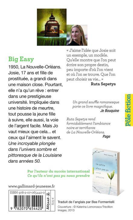 Big Easy - Ruta Sepetys