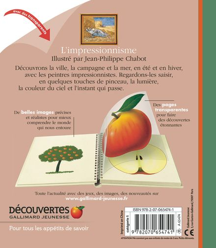 L'impressionnisme - Jean-Philippe Chabot