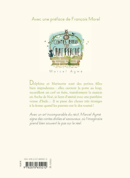 Les contes bleus du chat perché - Marcel Aymé, Nathalie Parain