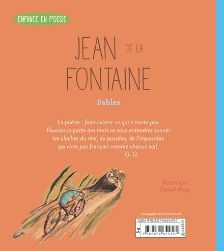 Fables choisies - Jean de La Fontaine, Daniel Maja