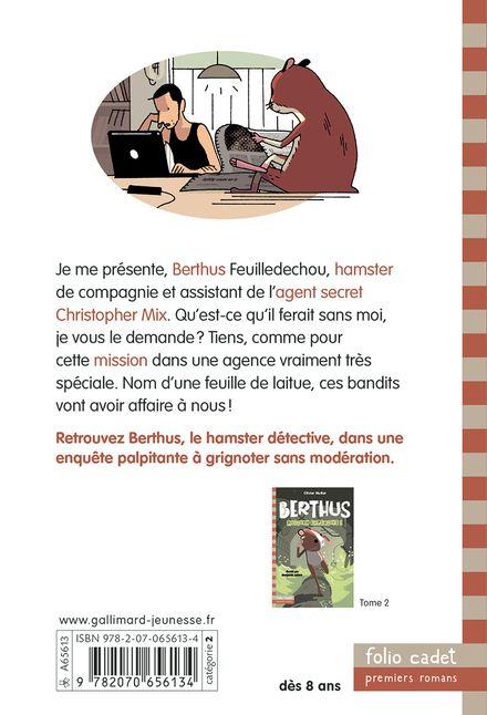 Agent secret - Benjamin Adam, Olivier Muller